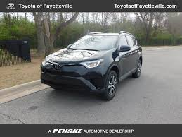 2017 Used Toyota RAV4 LE FWD at Toyota of Fayetteville Serving NWA ...