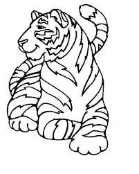 112 Dessins De Coloriage Tigre Imprimer Coloriage A Imprimer De Tigre L