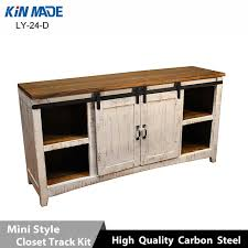 barn door hardware for cabinets modern mini cabinet flat track wooden sliding with regard to 11