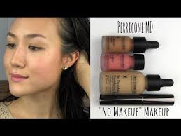 my review on perricone md s no makeup makeup and a tutorial application of my