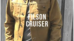 Filson Vest Size Chart The Legendary Super Durable Filson Tin Cloth Cruiser Jacket
