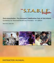 The S T A B L E Program Blood Gas Interpretation Chart