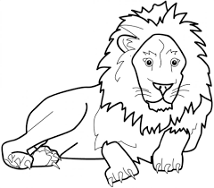 Free Kids Printable Lion Coloring Pages