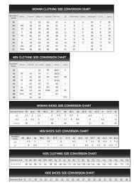 Stella Mccartney Size Chart 58 Inquisitive Marc By Marc Jacobs Shoe Size Chart