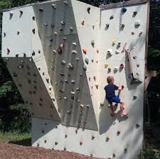 diy rock wall rock climbing walls to bring the mountains closer to home diy polystyrene aquarium