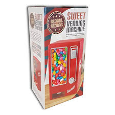 Jelly Bean Vending Machine Unique Red Retro Mini Sweet Vending Machine Children's Jelly Bean Candy