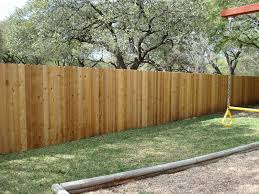 standard privacy fence installation and repair