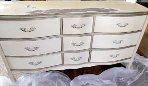 painted furniture makeover gold metallic. Waverly Chalk Painted Dresser Furniture Makeover Gold Metallic A