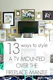 fireplace mantel decorating ideas with tv on fireplace mantel fireplace mantel decorating ideas with tv