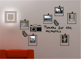 stunning photo frame bedroom lounge kitchen wall art sticker vinyl decal