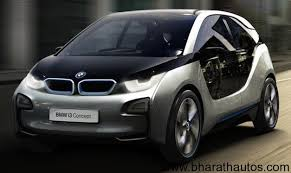 new car launches bmwBMW i3 Plugin Electric Concept Car unveiled
