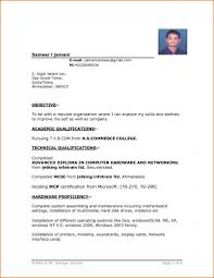 Download Resumes Format Resume Template Sample Resume Word Document Free Download