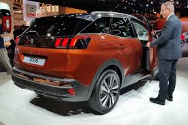 2018 peugeot 3008. interesting 3008 peugeot 3008  paris rear three quarter inside 2018 peugeot