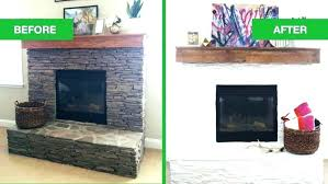 white painted fireplace painted fireplace before and after white painted stone fireplace before and after fireplace white painted fireplace