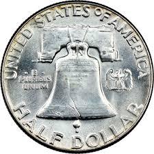 1960 Half Dollar Value Chart 1960 50c Ms Franklin Half Dollars Ngc