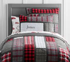 Plaid Patchwork Quilt | Pottery Barn Kids &  Adamdwight.com