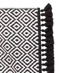 black and white bath towels. Jacquard-weave Bath Mat   Black/white Patterned Home H\u0026M US Black And White Towels W
