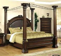 Twin Canopy Bed Monarch Hill Clementine Wood Frame Amazon – edurappi ...