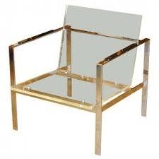 chrome furniture. chrome and lucite club chair 1970s furniture i