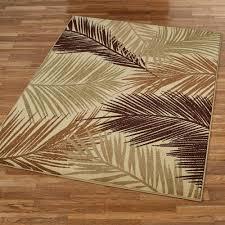 tropisk rectangle rug latte