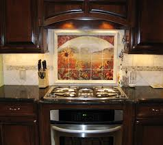 Glass Tile Kitchen Backsplash Designs Unique Design