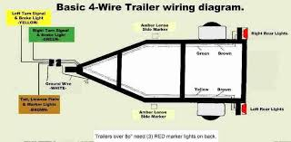 4 pin flat connector wiring diagram wiring diagram \u2022 7 way trailer plug wiring diagram gmc 7 pin flat trailer wiring diagram inspirational trailer wiring rh athenatech us 4 pin cb mic wiring 4 wire trailer wiring diagram