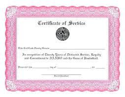 Service Certificate Format Service Certificate Sample Format Solacademy Co