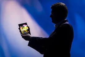Samsung Galaxy F foldable phone teased ...