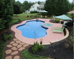 11 simple pool landscaping ideas that