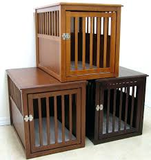 diy wooden dog crate plans crates pets