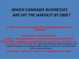 Cannabis Taxation Optimized Business Structures