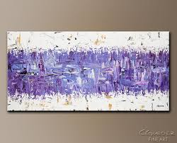 modern abstract art purple story contemporary wall art canvas purple abstract canvas art