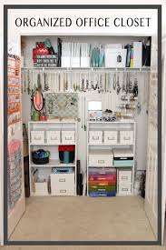organize home office. organized home office closet modish and main organize n