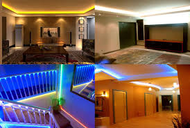 house led lighting. Beautiful Lighting Home Renovation With LED Lights Throughout House Led Lighting P