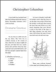 christopher columbus workbook for grades student handouts christopher columbus workbook for lower elementary students to print pdf file
