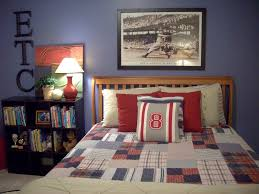 Small Bedroom Armchair Bedroom Enticing Little Boys Bedroom Design With Red Fabric