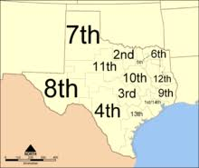 Texas Courts Chart Texas Courts Of Appeals Wikipedia