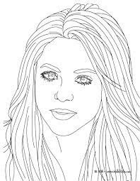 Small Picture Shakira songwriter coloring pages Hellokidscom
