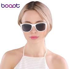 boapt white frame eyewear goggles retro wood vintage wooden handmade womens bamboo sunglasses polarized sun glasses
