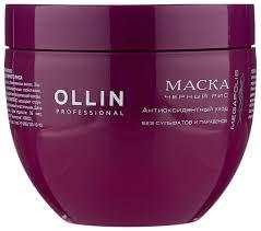 OLLIN Professional Megapolis <b>Маска на основе черного</b> риса для ...