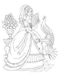 18 Dessins De Coloriage Disney Princess Imprimer