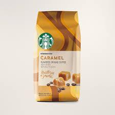 starbucks coffee bag. Brilliant Coffee Starbucks Caramel Flavored Coffee  Ground Bag For Starbucks U