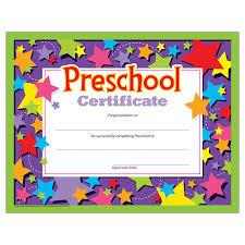 Preschool Graduation Certificate 30 Count