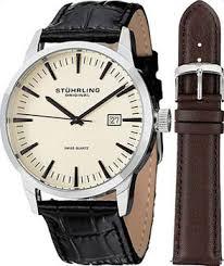 <b>Часы Stuhrling Original 555A</b>.<b>03</b>.<b>SET</b> - купить мужские наручные ...