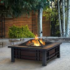 outdoor table fireplace canada ideas