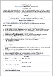 100 Human Resources Generalist Cover Letter 100 Resume For