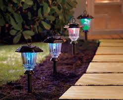 creative outdoor lighting ideas. Add Light To Your Driveway Or Pathway With Solar Walkway Lights. The White  LEDs Glow Softly On Standby. Because They\u0027re Motion Activated, They\u0027ll Come Creative Outdoor Lighting Ideas N