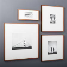 modern picture frames. Plain Picture Gallery Copper Picture Frames With White Mats CB2 Beautiful Modern Photo  Harmonious 4 In H