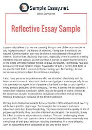 reflection paper example essays essay reflection paper examples coursework sample
