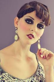 1920 s makeup look i like how its a full color version of what women wore